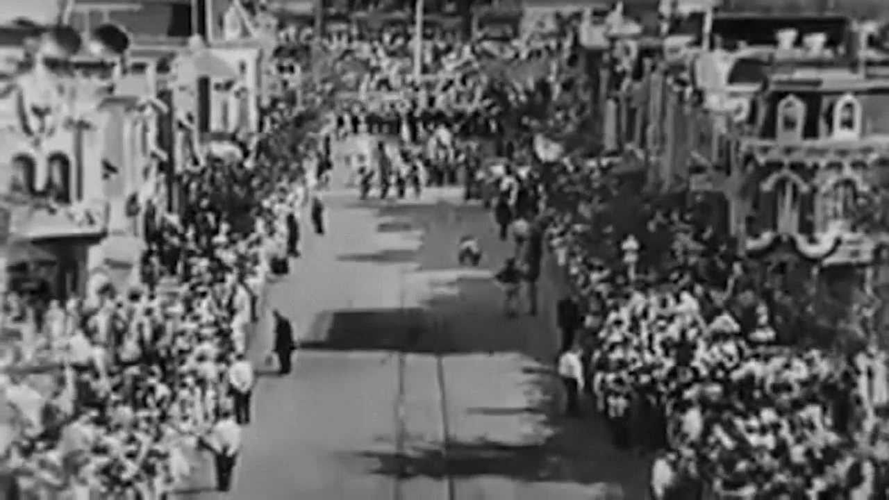 1955 Disneyland Opening Day Complete Abc Broadcast Youtube