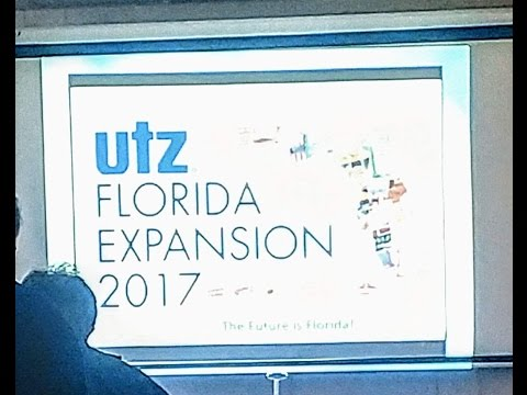 Breaking ! Utz Florida Expansion 2017