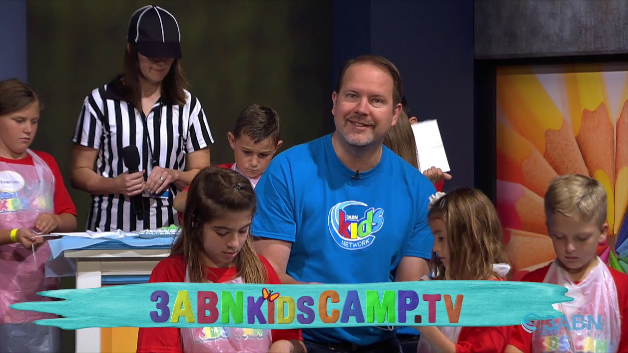 "02 - ""Leaving Your Mark"" - 3ABN Kids Camp Creation Crafts"