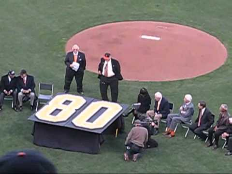 5-6-11 Willie Mays' 80th Birthday @ SF Giants
