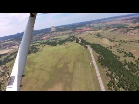 Wings Around America ....... Devils Tower (Wyoming)