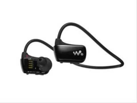 Sony Walkman Waterproof Sports NWZW273 4 GB MP3 Player Blue - New