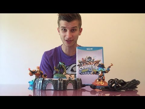 Skylanders Swap Force Unboxing!! NEW Figures, Portal, Game!! (Xbox 360, PS3, Wii U)