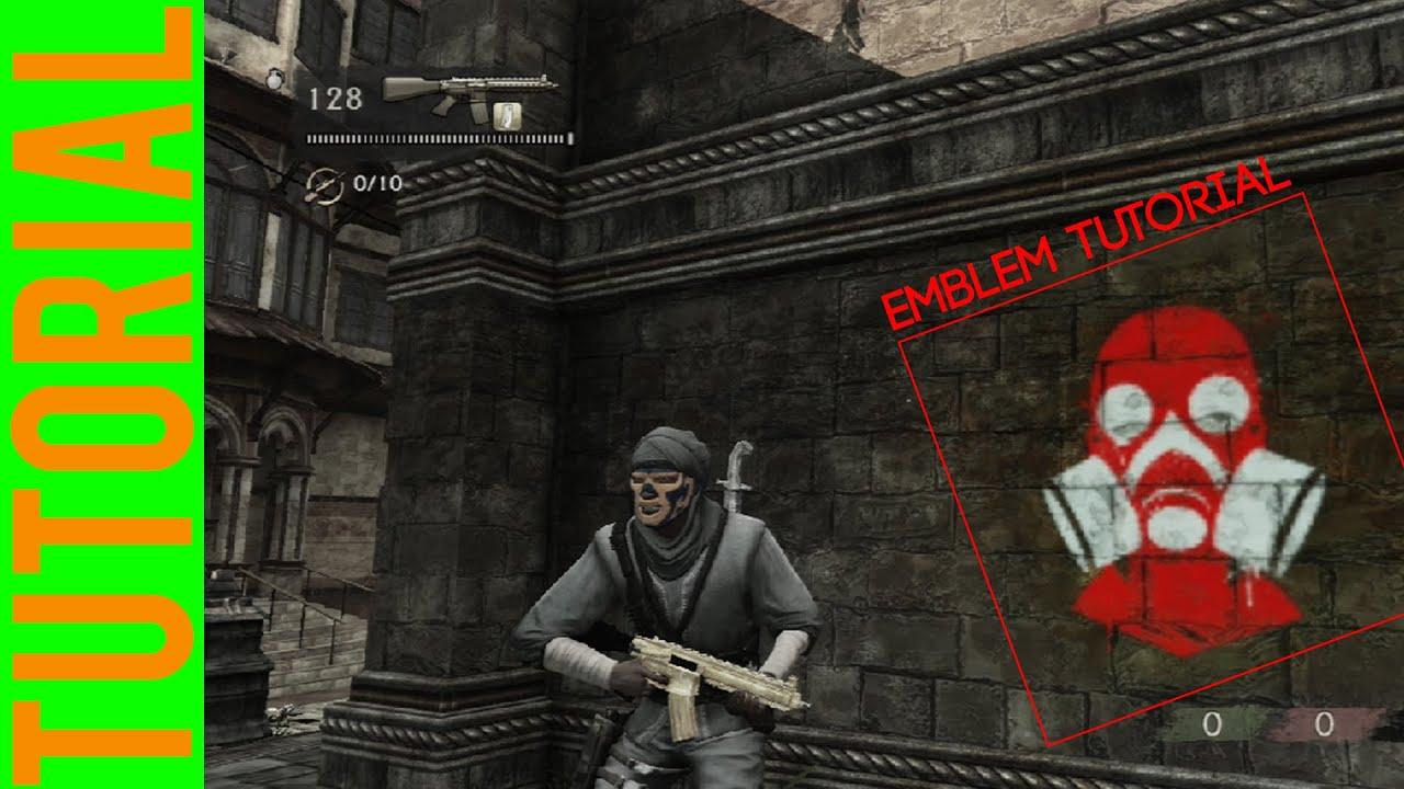 Emblem Tutorial - Uncharted 3 - YouTube