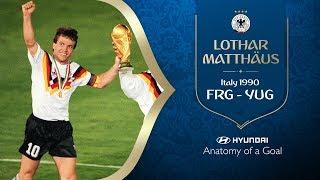hyundai anatomy of a goal - lothar matthaus frg 1990