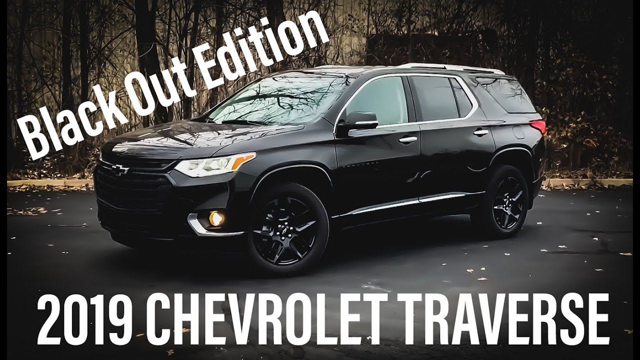 2019 Chevrolet Traverse Premier Review and Walk Around ...