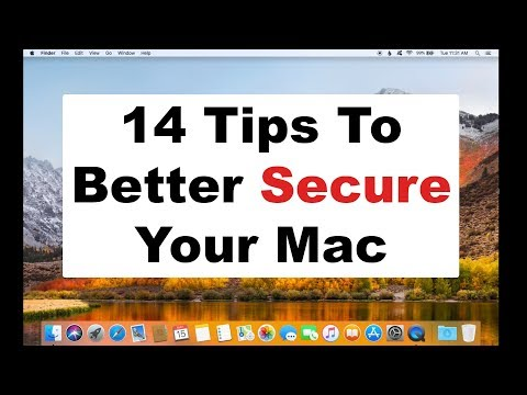 14 Tips To Secure Your Mac - Security & Privacy