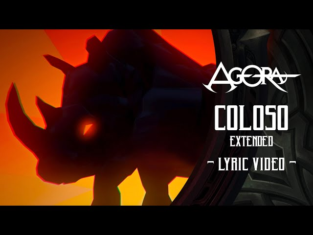 Agora - Coloso (Extended) Feat. Derek Sherinian (LyricVideo)