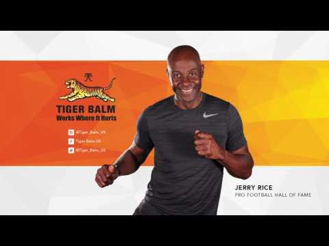Julie Anchor & Jerry Rice | Tiger Balm