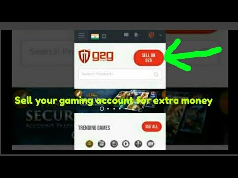 Earn Money By Selling Your Game Accounts   Online Money Earning