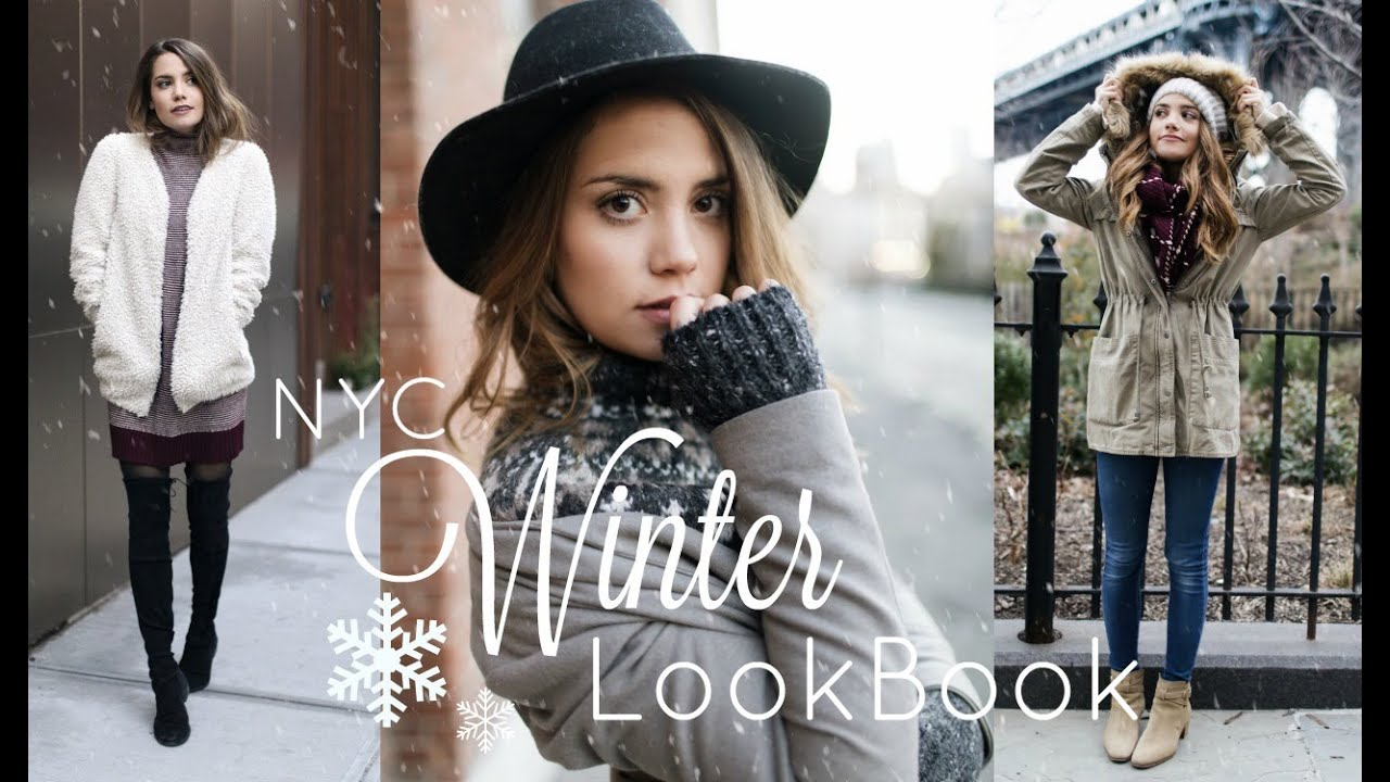 My Nyc Winter Style 2016 Tesschristine Youtube