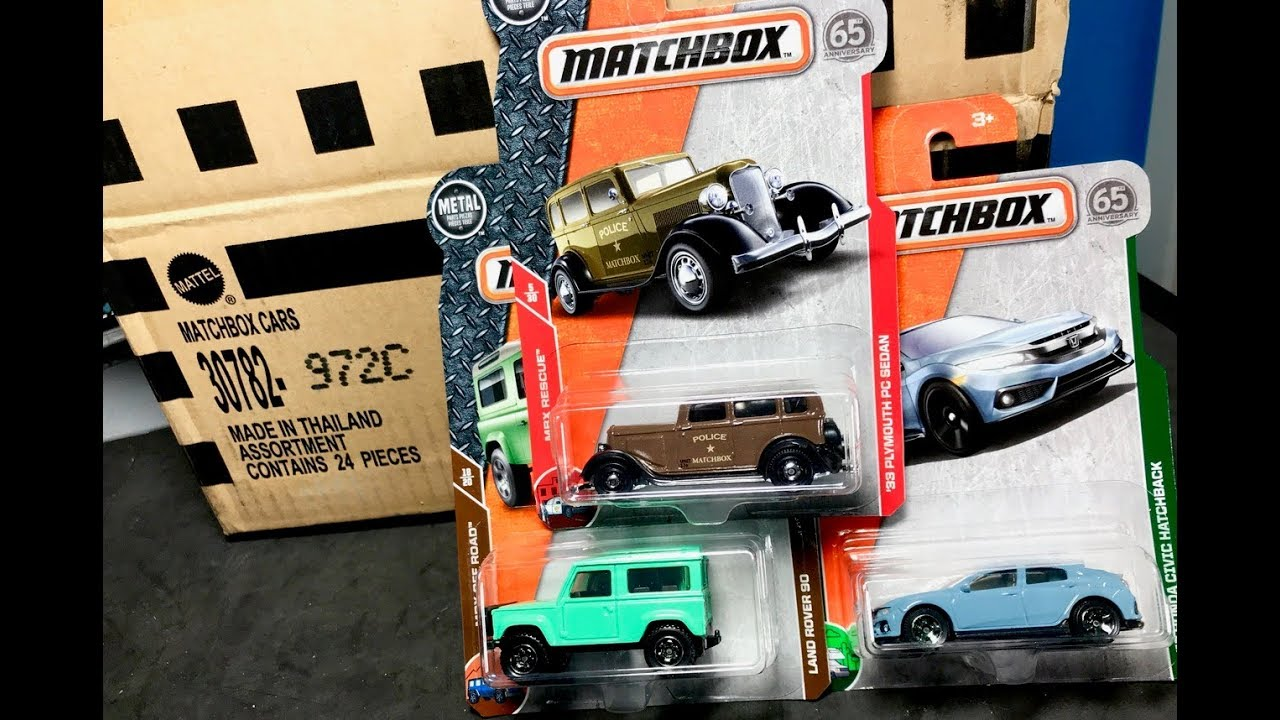 Lamley Unboxing: 2018 Matchbox C Case - YouTube