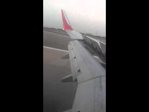 Air India Landing Kuwait International Airport