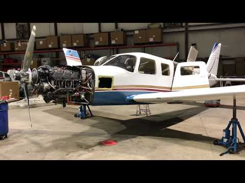 Piper Saratoga II TC Annual Gear Emergency Swing Test