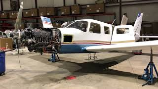 Piper Saratoga II TC Annual Gear Emergency Swing Test