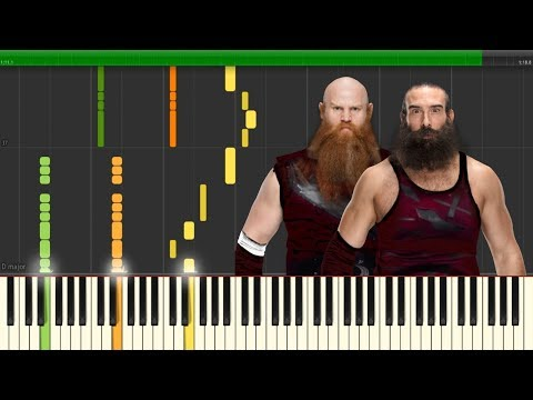 The Bludgeon Brothers WWE Theme - Brotherhood (Piano Version)