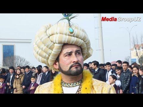 Zahiriddin Muhammad Bobur 535 yillik tavalludiga bag`ishlanadi | MediaGroupUZ