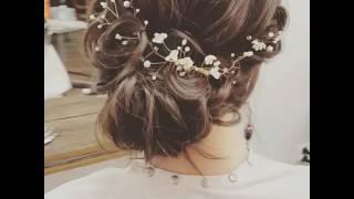 Fryzura ślubna fryzura wieczorowa , luźne fryzury ślubne