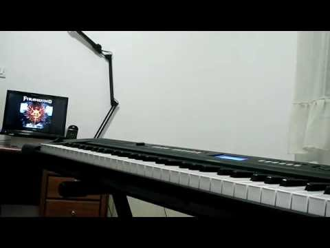 Firewind into the fire keyboard solos cover