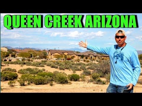 Queen Creek, Arizona Tour: Living In Phoenix, Arizona Suburbs