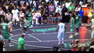 Meek Mill at the BET sprite Celebratory basketball game