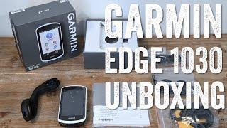 GARMIN EDGE 1030 UNBOXING! EXTERNAL BATTERY TOO!