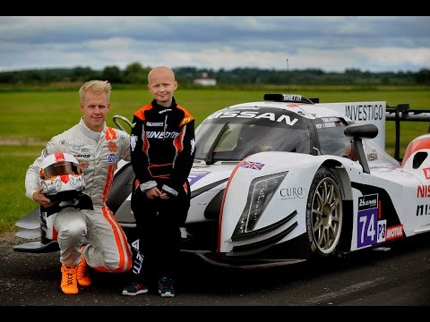 Jack's wish to drive a fast racing car