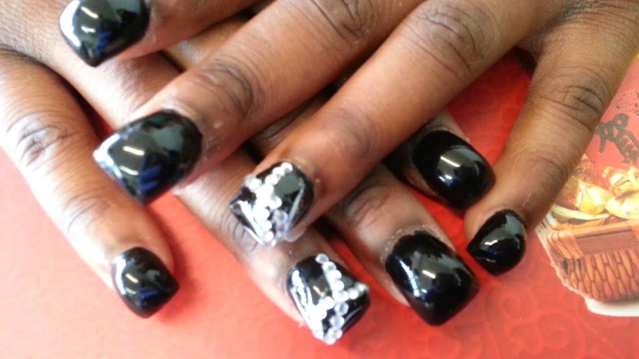 acrylic hump nails