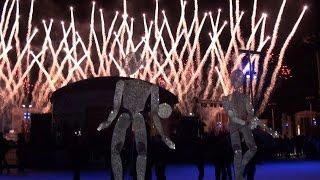 Открытие катка на ВДНХ - невероятное шоу на льду Москва 2016 г