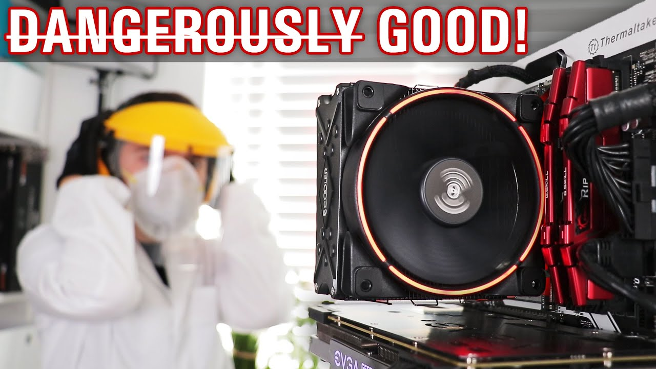 As GOOD as it is CHEAP ($20 / £16) - PCCOOLER GI-X6R 160W TDP (yeah...) Budget CPU Cooler Review