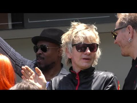 Zak Starkey Son Of Ringo Starr Attends His Dads Peace Love