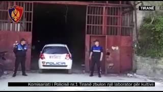 Policia e Tiranës, vijon kontrollin e territorit për parandalimin e kultivimit të bimëve narkotike.