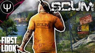 SCUM — NEW Prisoner Survival Game First Look!