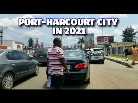 Port-Harcourt City 4K  Sunset Drive