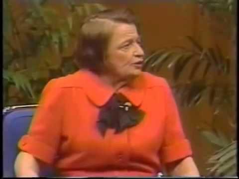 Ayn Rand on Donahue 1979