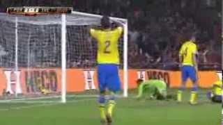 VM-Kval: Cristiano Ronaldo gör 1-0 mot Sverige