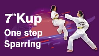 7th Kup Green Tag One Step Sparring