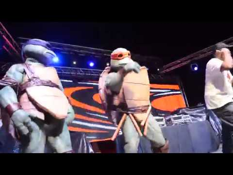 TURTLE POWER LIVE by Partners in Kryme 2014