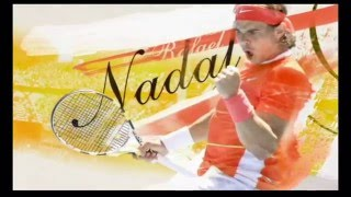 Virtua Tennis 4 - Wii - Jeu en mouvement Nadal (me) & Federer (Dave) vs Chakvetadze & Williams