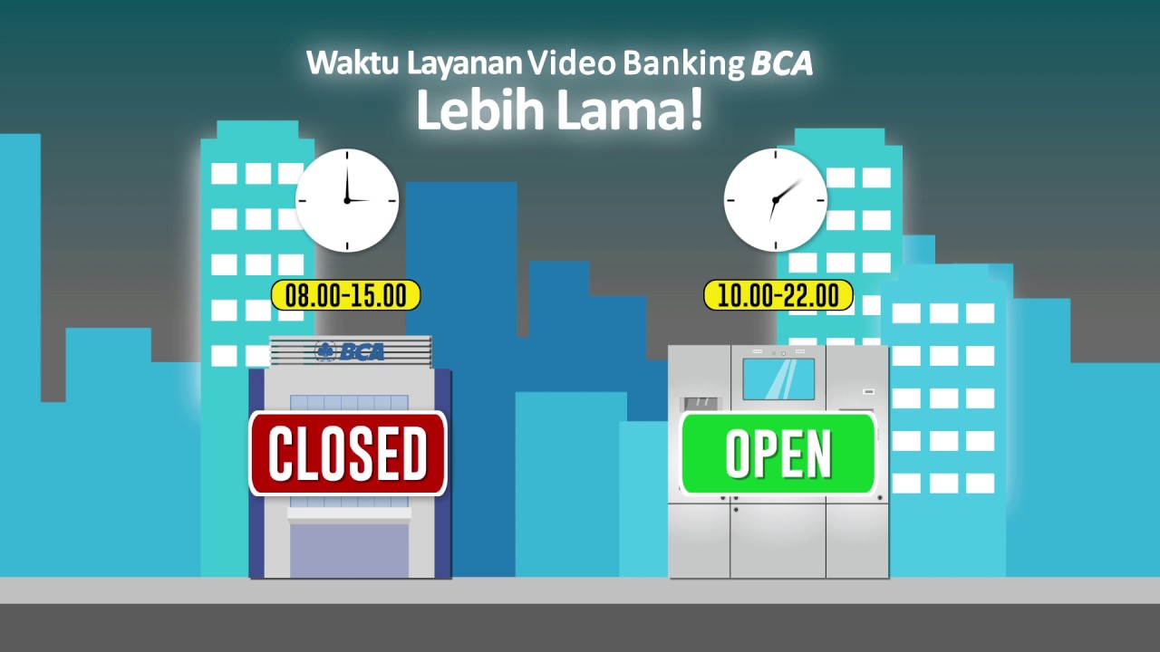 Serial edukasi produk inovasi BCA: Video Banking Kiosk ...