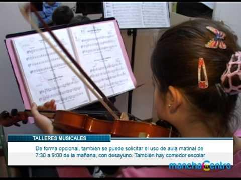 Talleres verano escuela de música