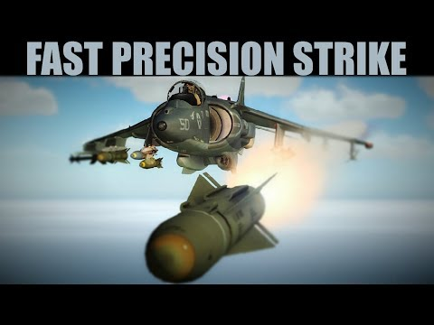 Syria Campaign: PRECISION Strike To Rescue President Assad | Harrier & Viggen | DCS WORLD