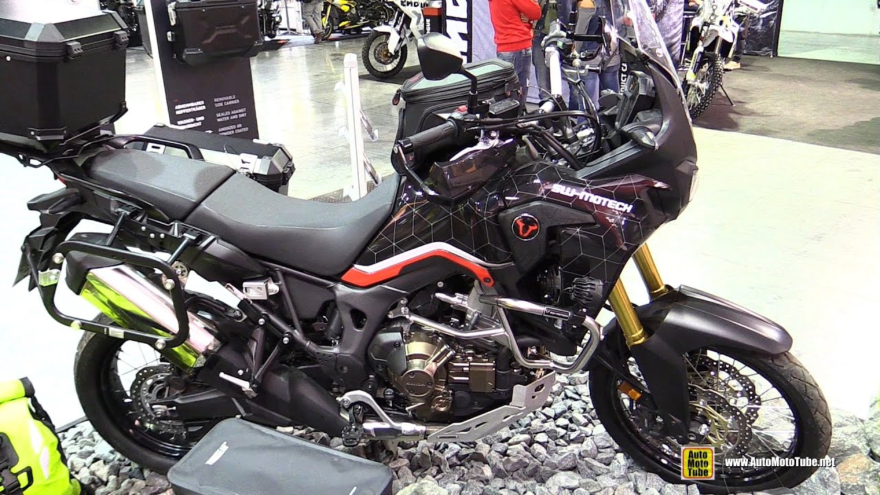 2016 honda africa twin dct customized by sw motech. Black Bedroom Furniture Sets. Home Design Ideas