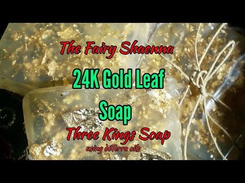 24k Gold Soap, Three Kings Soap~ The Fairy Shaenna