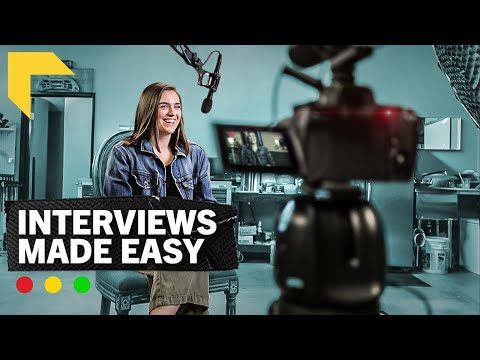 How to Shoot Cinematic Interviews | 10 Easy Steps