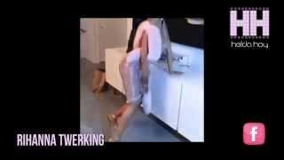 Rihanna twerking hasta abajo - helda hoy