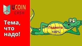 UCOINcash ,как купить монеты и почему я верю, что проект выстрелит!
