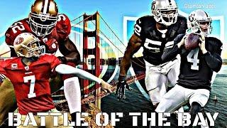 RAIDERS VS 49ERS - BATTLE OF THE BAY 2014 (HD)