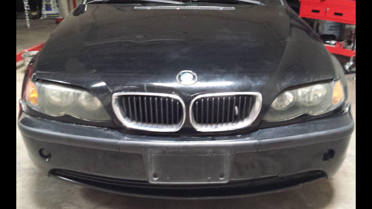 Front Bumper Fog Lights Removal BMW E46 330i 325i sedan YouTube
