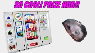 SICK! Prize Hub! Prize Redemption Machine In Action! So Cool!